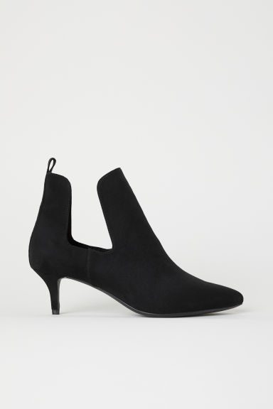 Open-sided ankle boots - Black - Ladies | H&M