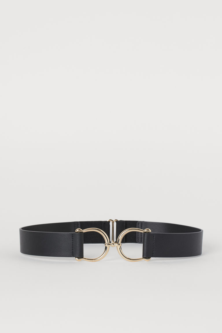 Waist Belt - Black/gold-colored - Ladies | H&M US