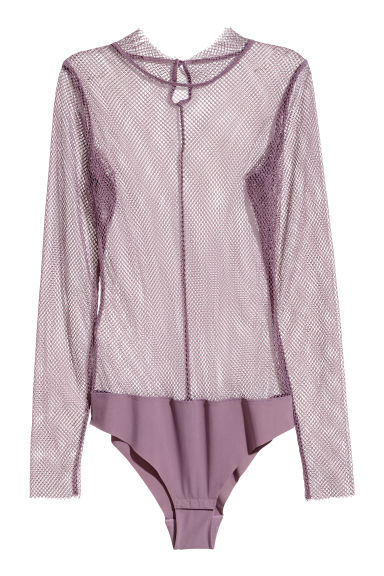Body in mesh a maniche lunghe - Erica -  | H&M IT