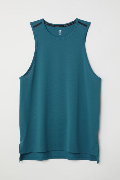 Sports vest top - Turquoise - Men | H&M