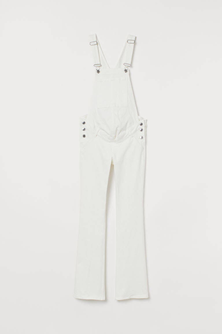 MAMA Denim dungarees - White - Ladies | H&M GB