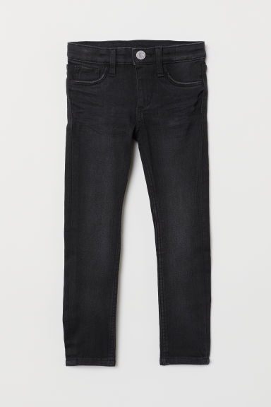 Superstretch Skinny Fit Jeans - Schwarz - KINDER | H&M CH