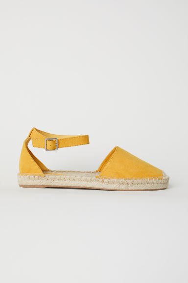 Espadrilles - Yellow - Ladies | H&M CN