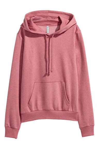 Hooded top - Old rose -  | H&M