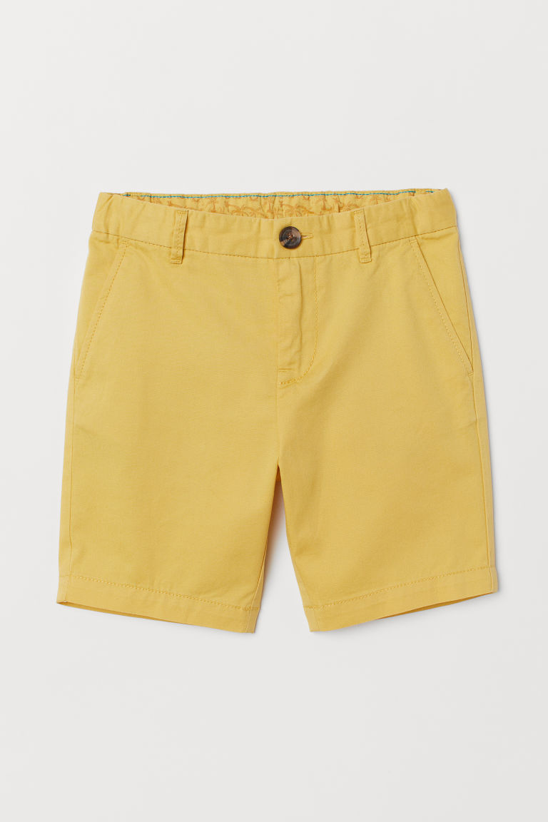 Chino shorts - Yellow - Kids | H&M