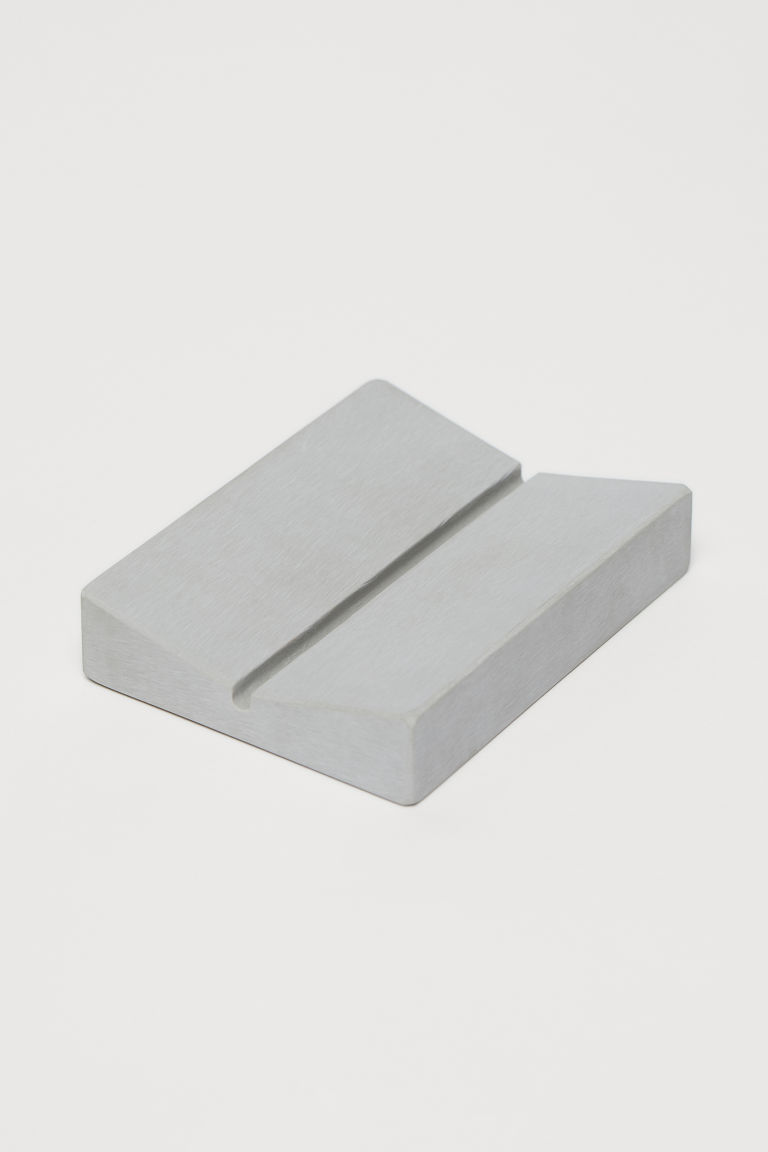 Soap dish - Light grey - Home All | H&M CN