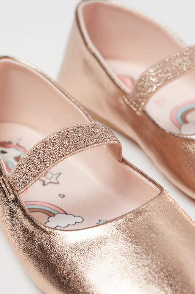 a7b99416e5b2 ... Ballet Flats - Rose gold-colored unicorn - Kids