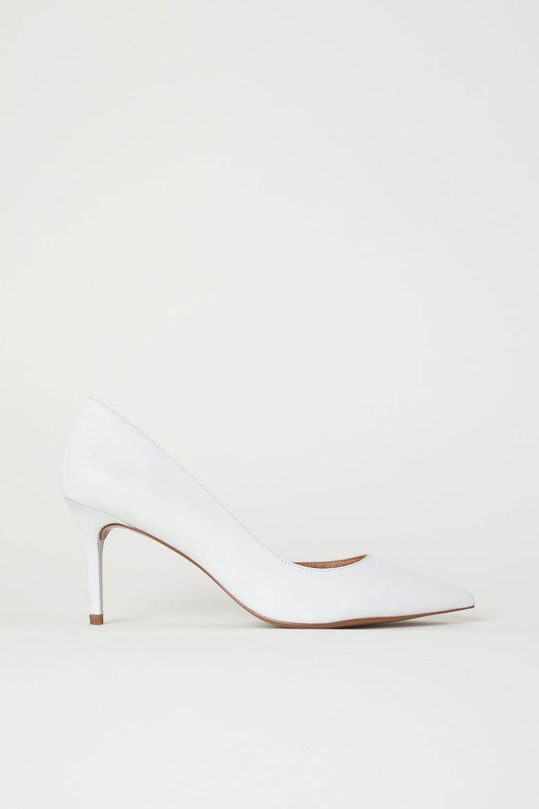 Pumps met spitse neus - Wit - DAMES | H&M BE