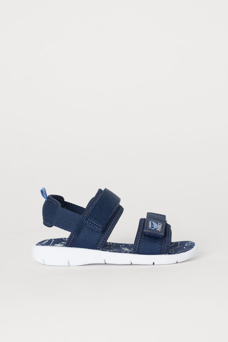 Scuba sandals - Navy blue/Sharks - Kids | H&M GB