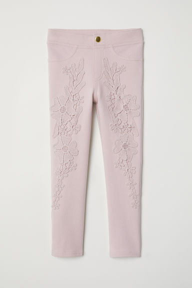 Jersey treggings - Light pink - Kids | H&M CN