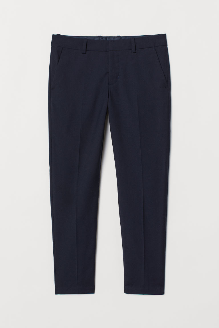 Generous Fit Suit trousers - Dark blue - Kids | H&M