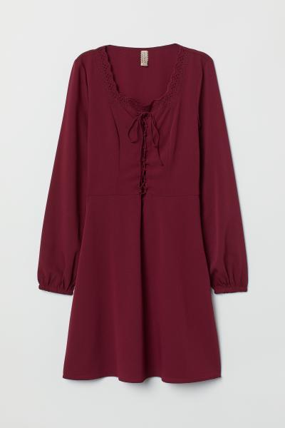 H&M - Crêpe dress - 5