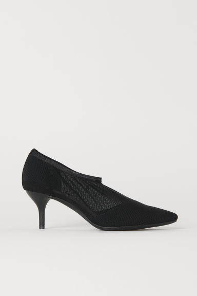 Kanten sockstyle-pumps - Zwart -  | H&M BE
