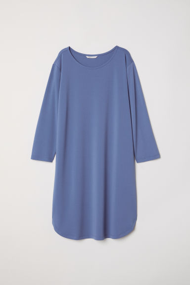 Jersey dress - Dusky blue - Ladies | H&M CN