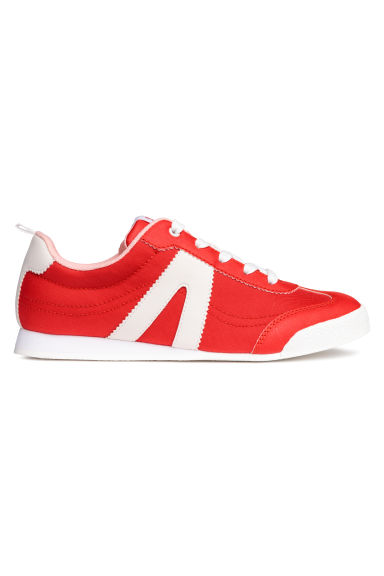 Mesh trainers - Red/White - Kids | H&M CN