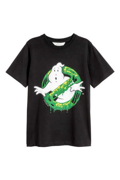 T-shirt con stampa - Nero/Ghostbusters -  | H&M CH