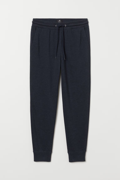 Sweatpants Slim Fit - Dark blue - Men | H&M CN