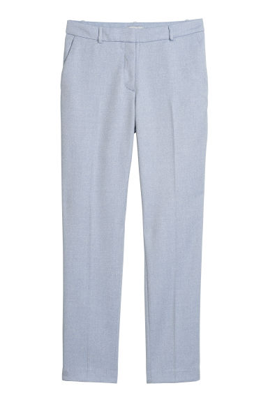 Suit trousers - Light blue - Ladies | H&M