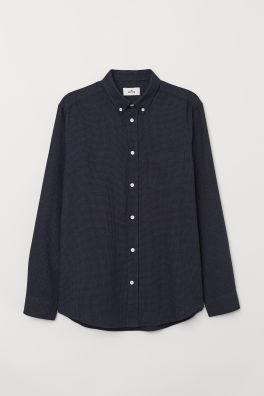 Kostkovaná bavlněná košile 74f808c041