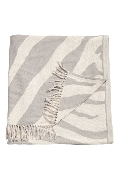 Zebradessin - Taupe/zebraprint - HOME | H&M BE