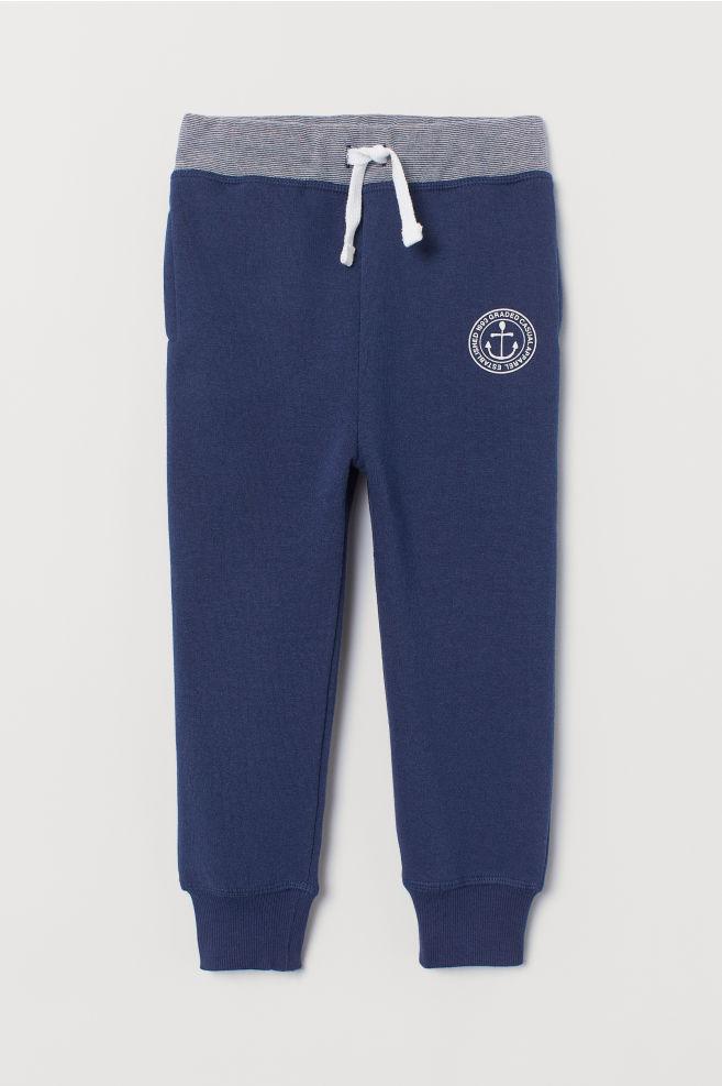 efdc95597bb8a1 ... Sweatpants - Dark blue - Kids   H&M ...