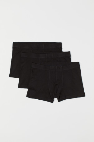3er-Pack Kurze Trunks