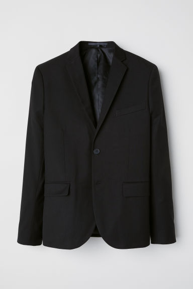 Jacket Slim fit - Black - Men | H&M CN
