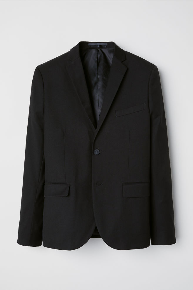 b069987066a Blazer Slim fit - Black - Men