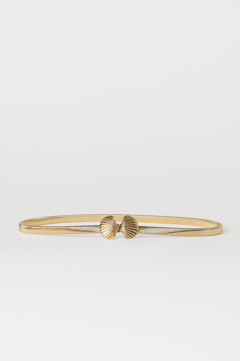 Metal waist belt - Gold-coloured - Ladies | H&M IE