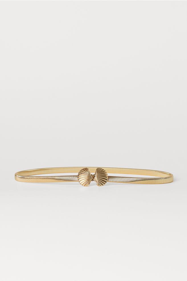 a13ef200c579af Taillengürtel aus Metall - Goldfarben - Ladies | H&M ...
