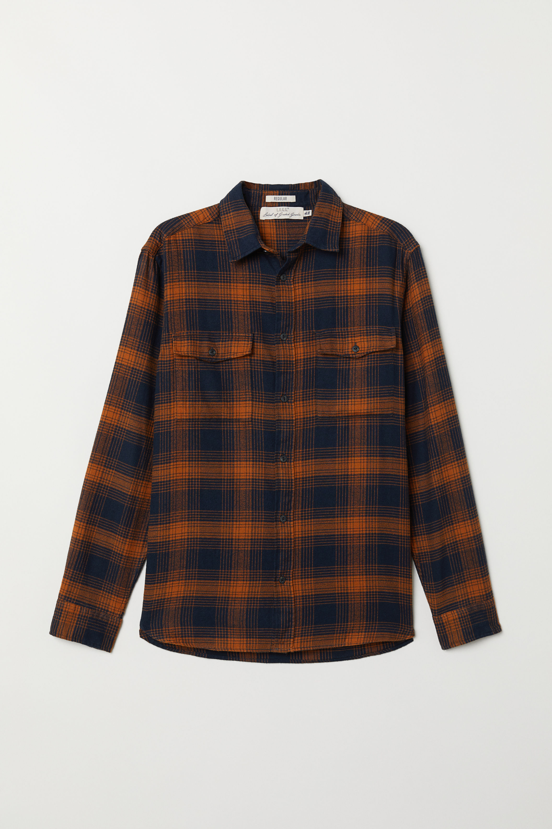 Regular Fit Flannel Shirt