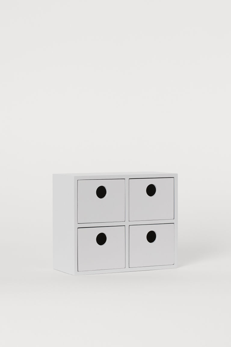 Plywood mini chest of drawers - Light grey - Home All | H&M CN