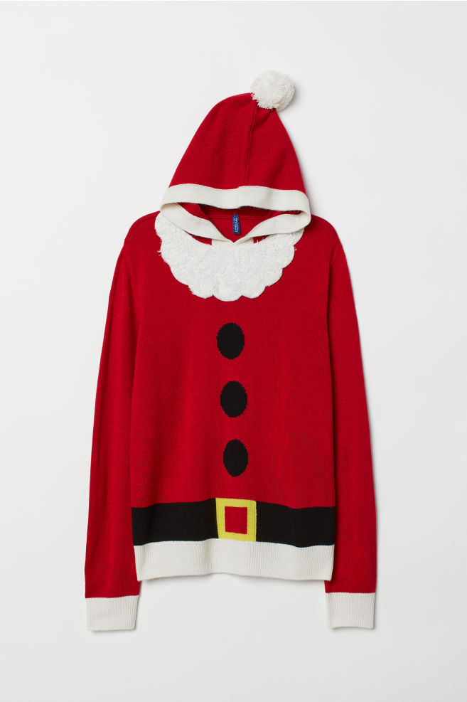 c41929d98ef Hooded Christmas Sweater
