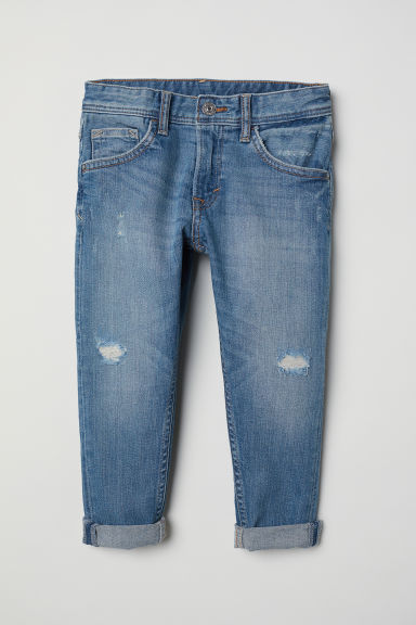 Relaxed Tapered Fit Jeans - Blu denim - BAMBINO | H&M IT