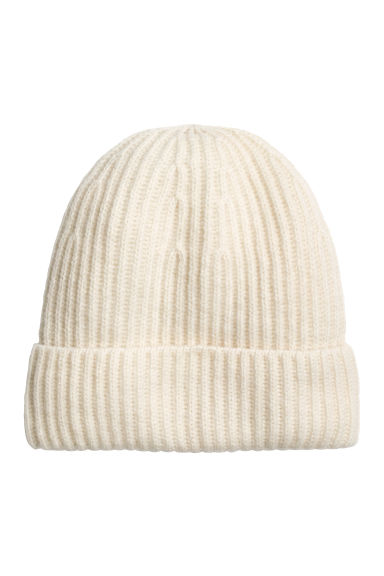 Cashmere hat - Natural white - Ladies | H&M