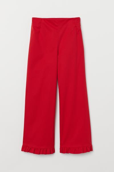 H&M - Pantalon à bord volanté - 5