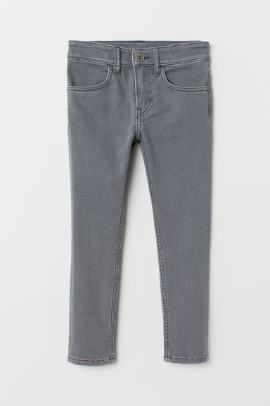 Skinny Fit Jeans - Light grey - Kids | H&M CA