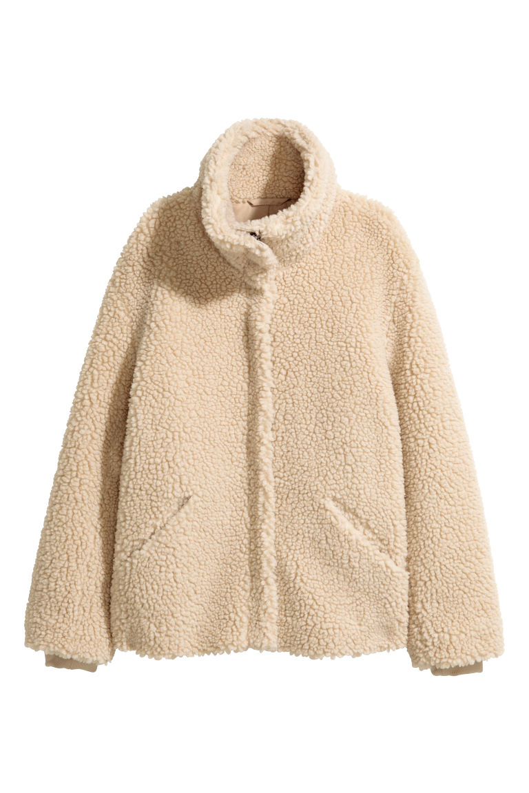 Pile jacket - Beige - Ladies | H&M