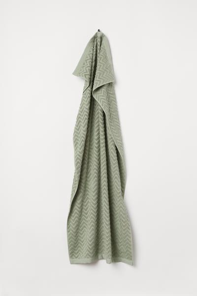 H&M - Jacquard-patterned bath towel - 1