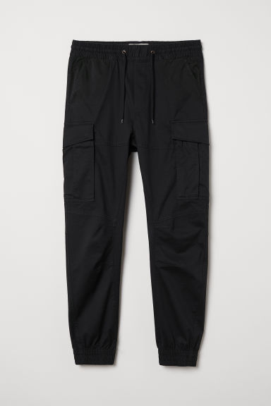 Cargo joggers - Black - Men | H&M