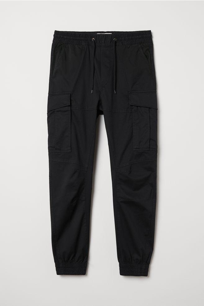 9cdfa83c ... Cargo Joggers - Black - Men | H&M ...