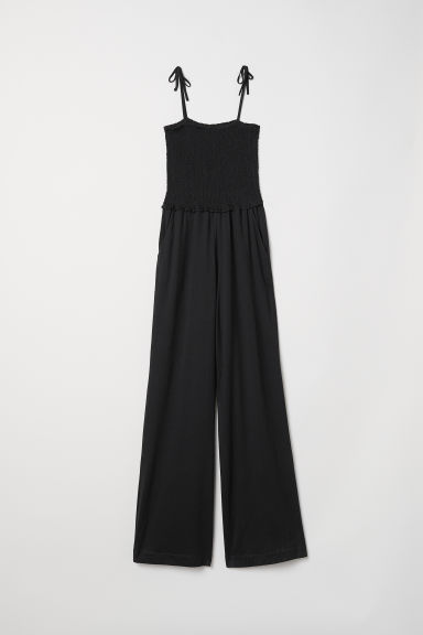 Sleeveless jumpsuit - Black - Ladies | H&M