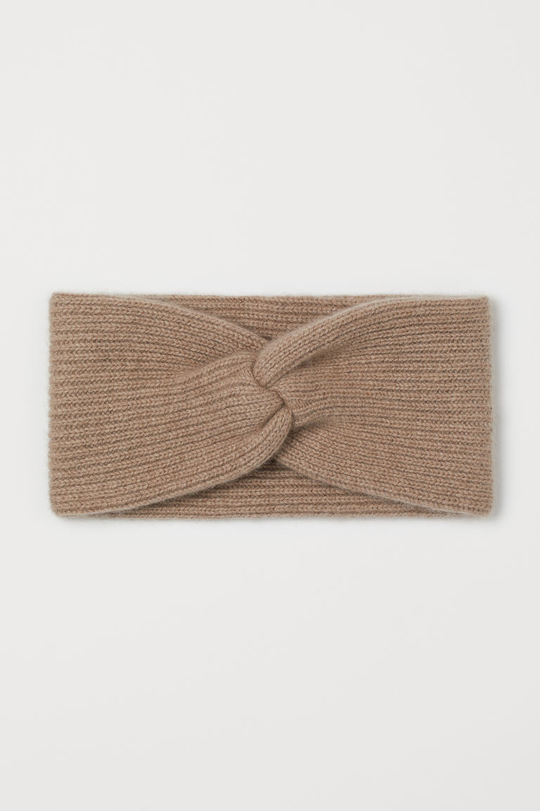Stirnband aus Kaschmir - Beige - Ladies | H&M AT