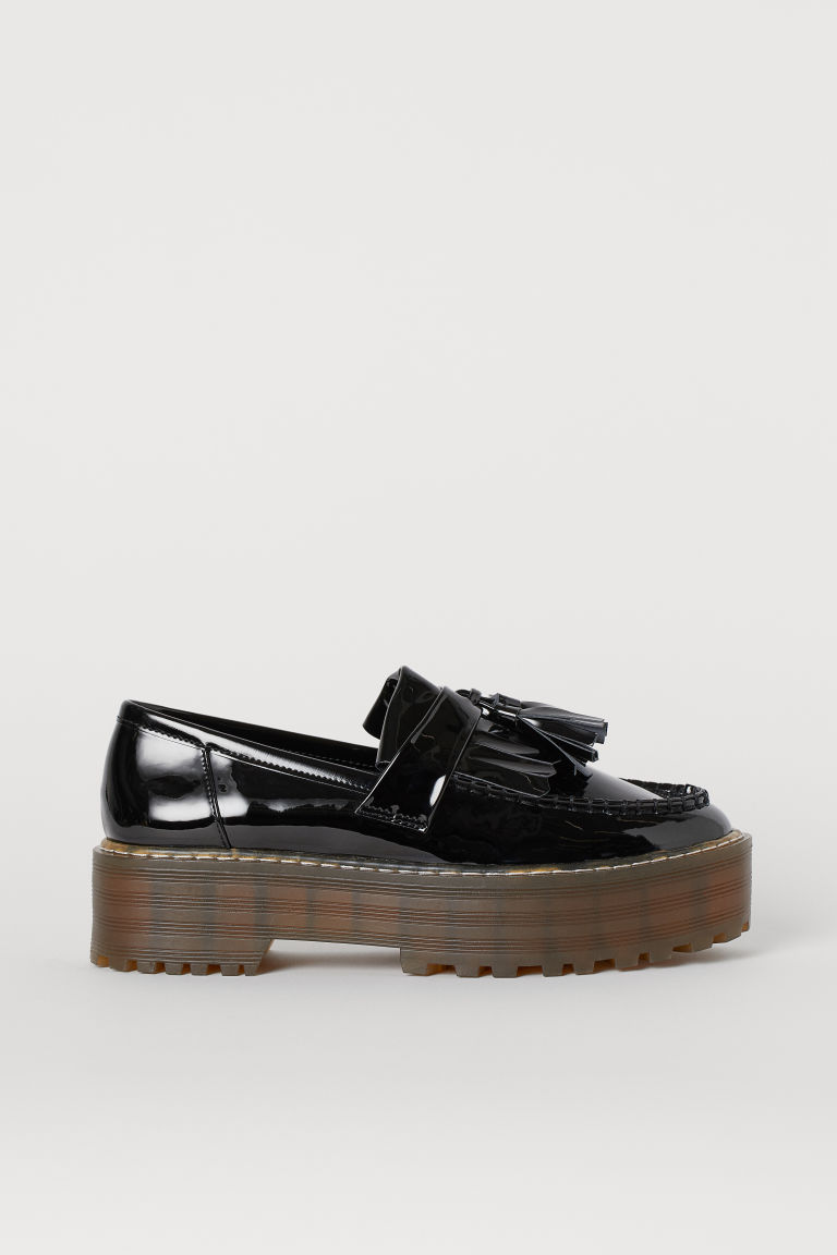 Platform loafers - Black -  | H&M GB