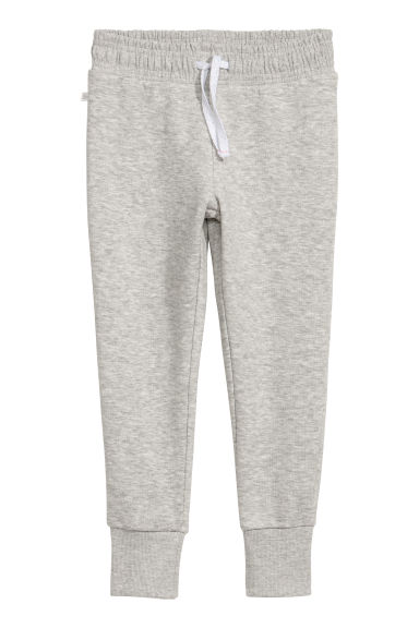Joggers - Light grey marl -  | H&M
