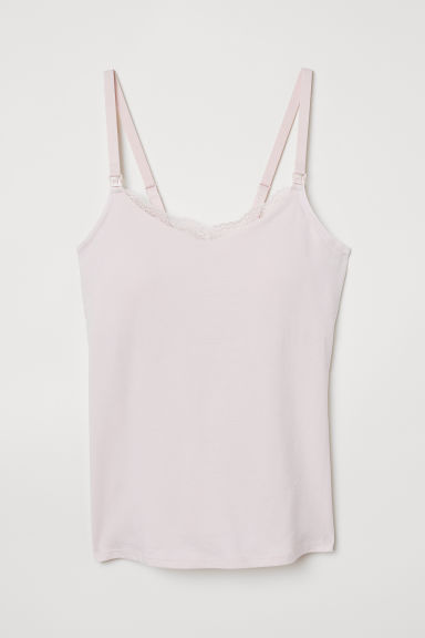 MAMA Top reggiseno integrato - Rosa chiaro - DONNA | H&M IT