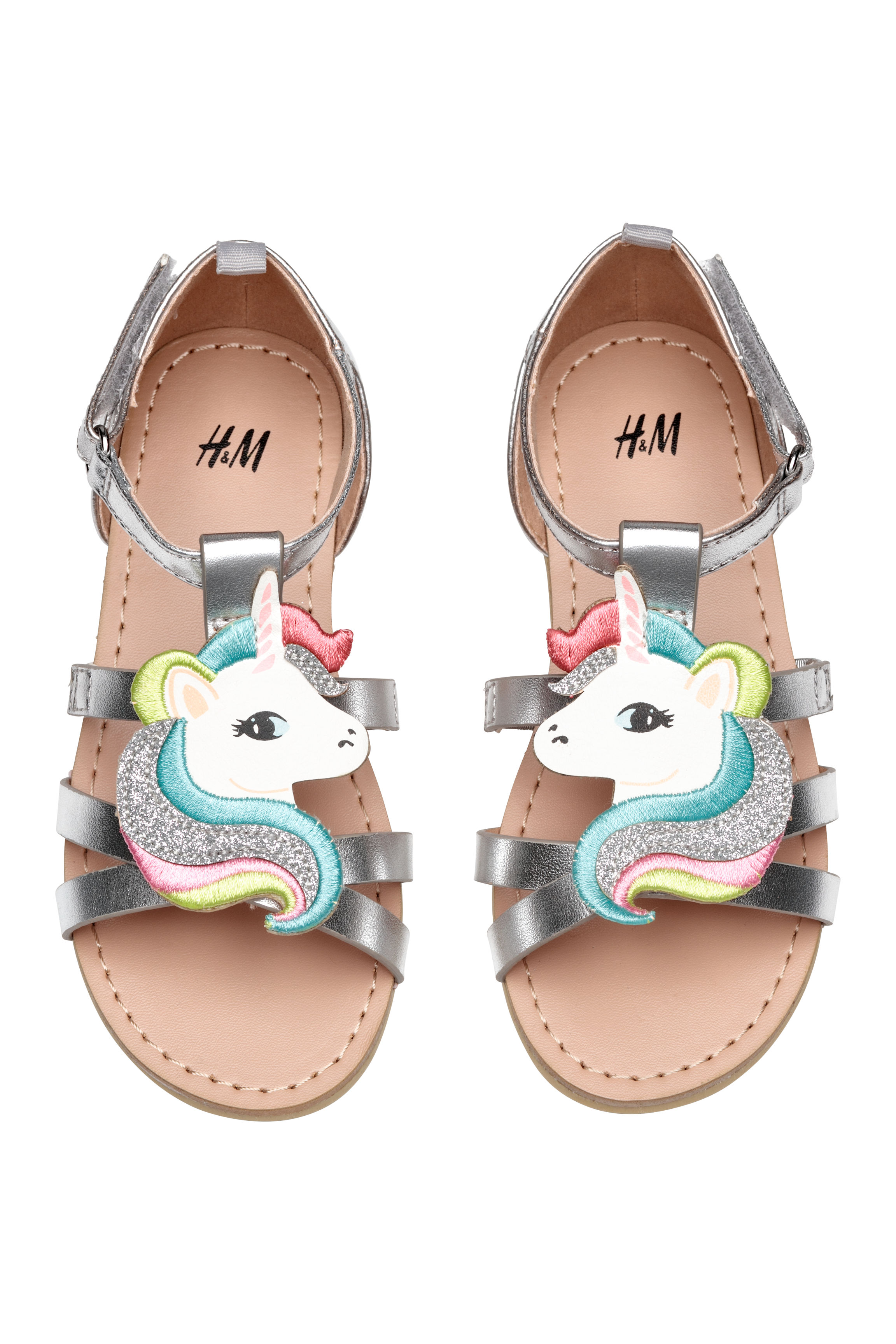 bff990737c7da Appliquéd sandals