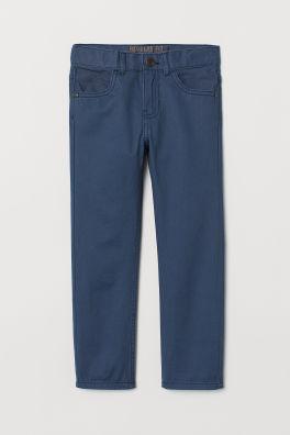 3ae1ce4dd Regular Fit Twill Pants