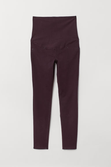 MAMA Treggings - Dark plum - Ladies | H&M CN