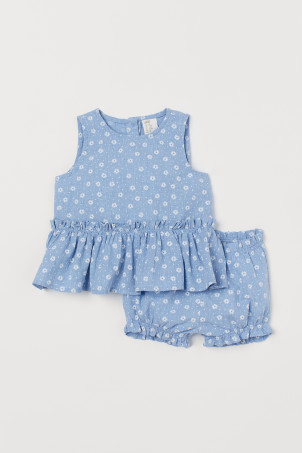 f8fa71313b Baby Girl Clothes - Shop for your baby online | H&M US